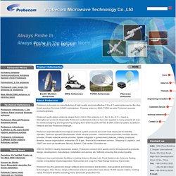 Sell Earth Station Antennas,Flyaway antenna,,Rx antenna,VSAT Antennas,TVRO Antennas,Probecom Ltd
