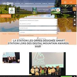 La station Les Orres désignée Smart Station lors des Digital Mountain Awards 2018