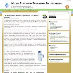 Micro Station d'Epuration Individuelle » Boue activée