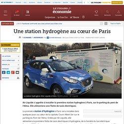 Une station hydrogène au cœur de Paris