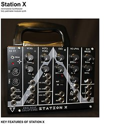 Station X synthesiser