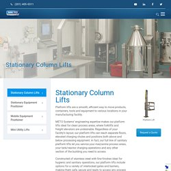 Stationary Column Lifts