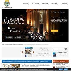 « A Menton, je stationne gratuitement tous les week-ends de décembre pour mes (...) - Ville de Menton - site officiel