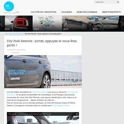 Stationnement automatique avec Citypark remote