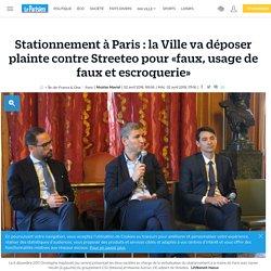 Stationnement à Paris : la Ville va déposer plainte contre Streeteo pour «faux, usage de faux et escroquerie»