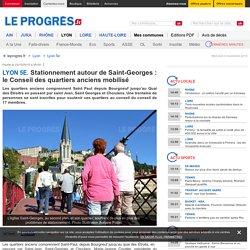 Stationnement autour de Saint-Georges : le Conseil des quartiers anciens mobilisé