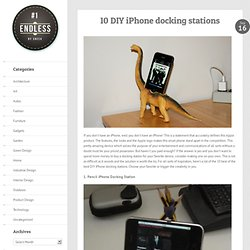 10 DIY iPhone docking stations
