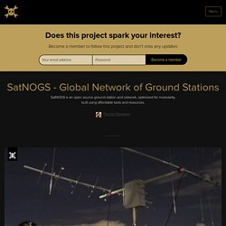 SatNOGS - Global Network of Ground Stations