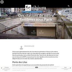 Des stations de métro fantômes sous Paris