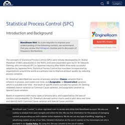 Statistical Process Control (SPC) Tutorial