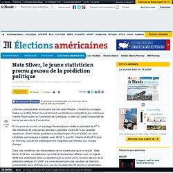 Nate Silver, le statisticien promu gourou de la prédiction politique