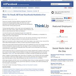 How To Track All Your Facebook Statistics For Free