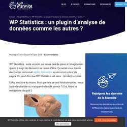 WP Statistics : un plugin d'analyse de données comme les autres ?