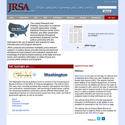 Justice Research and Statistics Association