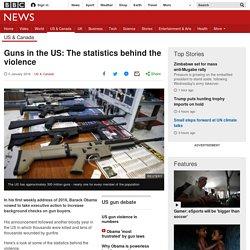 San Bernardino shooting: Statistics behind US gun violence