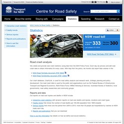 Statistics - NSW Centre for Road Safety