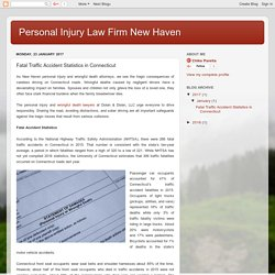 Personal Injury Law Firm New Haven: Fatal Traffic Accident Statistics in Connecticut