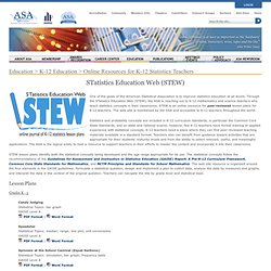 STatistics Education Web (STEW)