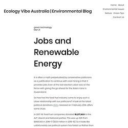 Ecology Vibe Australia — Ecology Vibe Australia