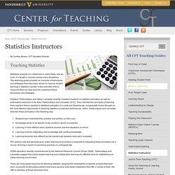 Statistics Instructors