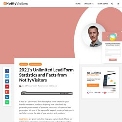 2021's Lead Form Statistics and Facts With Design Tips