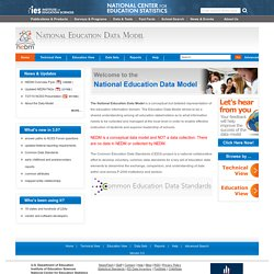 Education Data Model (National Forum on Education Statistics). Strategies for building education software systems.