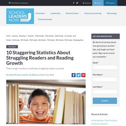 Statistics About Struggling Readers and Reading Growth