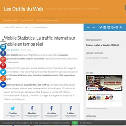 Mobile Statistics. Le traffic internet sur mobile en temps réel