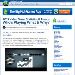 2015 Video Game Statistics & Trends Who's Playing What & Why?