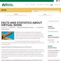 Facts and Statistics about Virtual Work