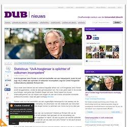 """DUB: Statisticus: """"UvA-hoogleraar is oplichter of volkomen incompetent"""""""