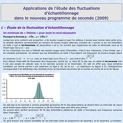 application fluctuation 2nde