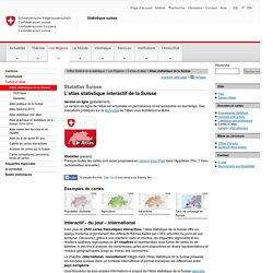 Atlas statistique de la Suisse