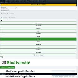 Abeilles et pesticides: les acrobaties statistiques du ministère de l'agriculture