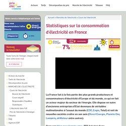 Statistiques sur la consommation d'électricité en France