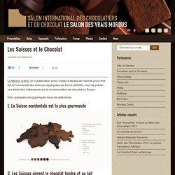 Statistiques de consommation de chocolat en Suisse