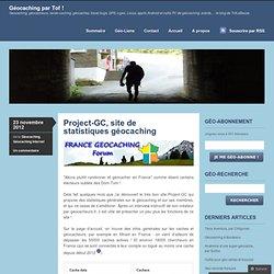 Project-GC, site de statistiques géocaching