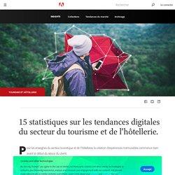 15 statistiques sur les tendances digitales du secteur du tourisme et de l'hôtellerie.