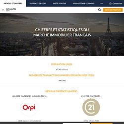 Chiffres et statistiques du marché immobilier Français - Immobilier 2.0