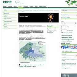 France - Immostat : statistiques sur l'immobilier