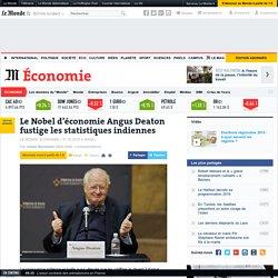 Le Nobel d'économie Angus Deaton fustige les statistiques indiennes