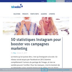 50 statistiques Instagram pour booster vos campagnes marketing
