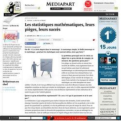 Les statistiques mathématiques, leurs pièges, leurs succès