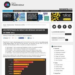 Les statistiques du web et des réseaux sociaux en octobre 2014