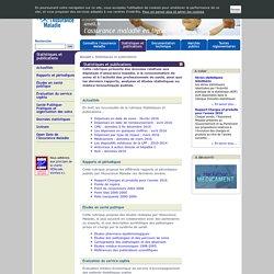 ameli.fr-Statistiques et publications