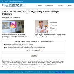Formation Community Manager & Formation Réseaux Sociaux - Pellerin Formation