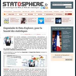 Gapminder & Data Explorer, pour la beauté des statistiques - Statosphère, les statistiques du web et d'ailleurs