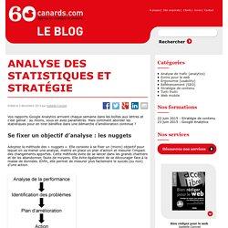 Analyse des statistiques dans une logique de stratégie de contenu