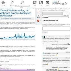 Yahoo! Web Analytics, un webware avancé d'analyses statistiques
