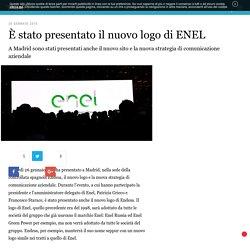 È stato presentato il nuovo logo di ENEL